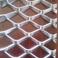 Aluminum expanded metal wire mesh diamond mesh customized