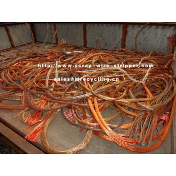Machine Stripping Copper Wire For Recycling