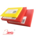Yellow Hardness 90A Cast PU Polyester Sheet