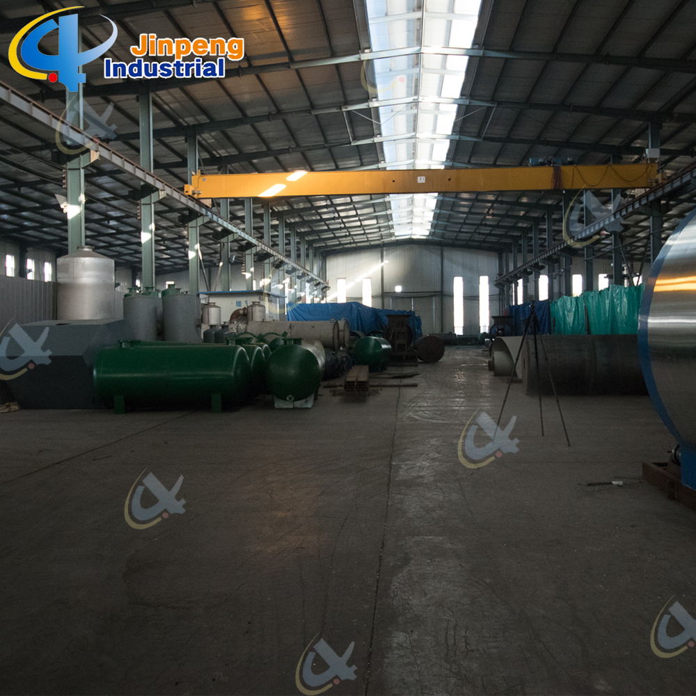 Used Tyre Recycling Plant
