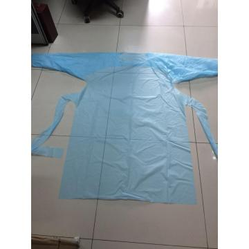 Wholesale CPE Disposable long sleeves Gown With Ce and FDA