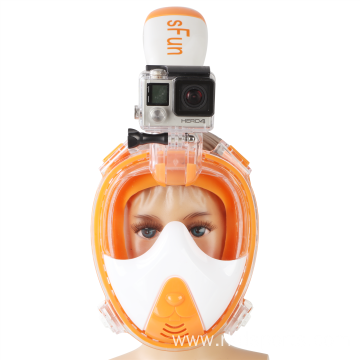 RKD new-design easy breath full face snorkel mask