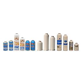 Small Can Refrigerant gas R134a