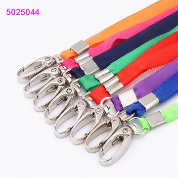 Beautiful colors Lace Ribbons Cords Lanyard Badge Holder Accessories high quality Office Badge strap rope