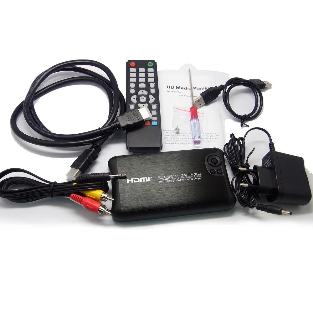 "REDAMIGO USB3.0 Mini 1000GB 2.5""SATA Full HD 1080p MKV 2.5'' HDD HDMI Media Player Center USB OTG SD AV TV AVI RMVB RM HDD2506R"