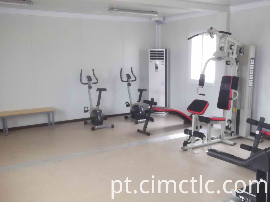 Prefab Flatpack Gym Room