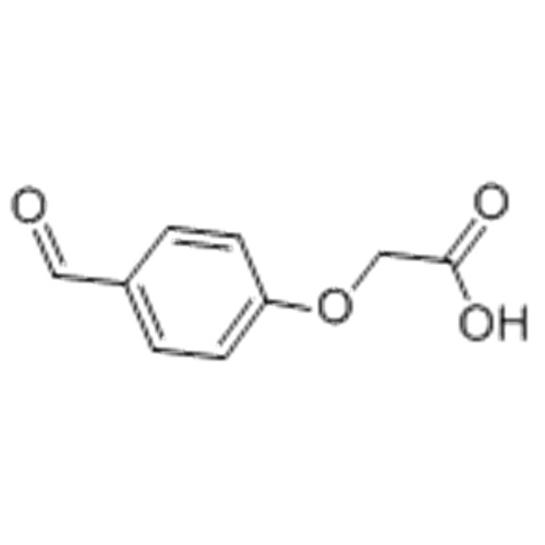 Acetic acid,2-(4-formylphenoxy)- CAS 22042-71-3