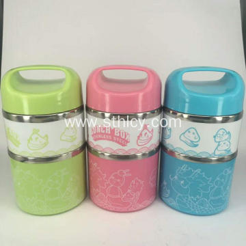 Insulated Stainless Steel Food Container Set