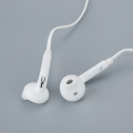 Wired Headset Earphone with Mic for Samsung IPhone Android Durable In-ear 3.5mm Black/White Two Colors