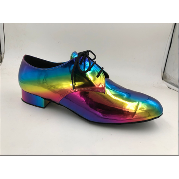 Wide fitting mens ballroom dance shoes