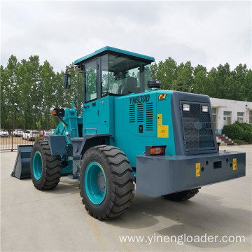 2 Ton Small Wheel Compact Farm Loader