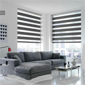 Motorized Zebra Roller Blinds