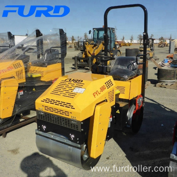 weight of road roller 1ton roller compactor(FYL-880)