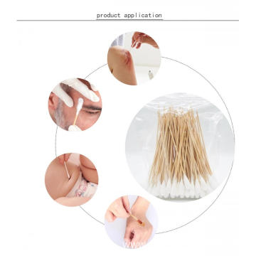 Wound Clean Disposable Disinfection Cotton Applicator Swabs