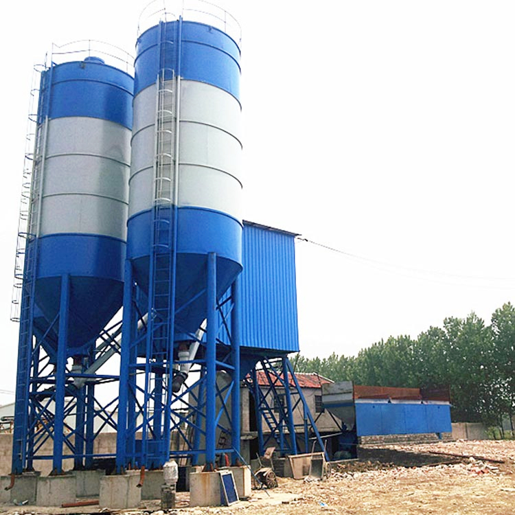 Electrical automatic 25m3 concrete batching plant for sale