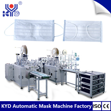 Automatic Disposable Surgical Face Mask Making Machine