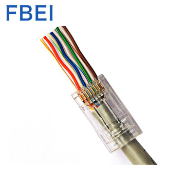 1.2MM EZ Cat6A utp connector