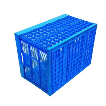 Plastic industrial and commercial crate injection mould