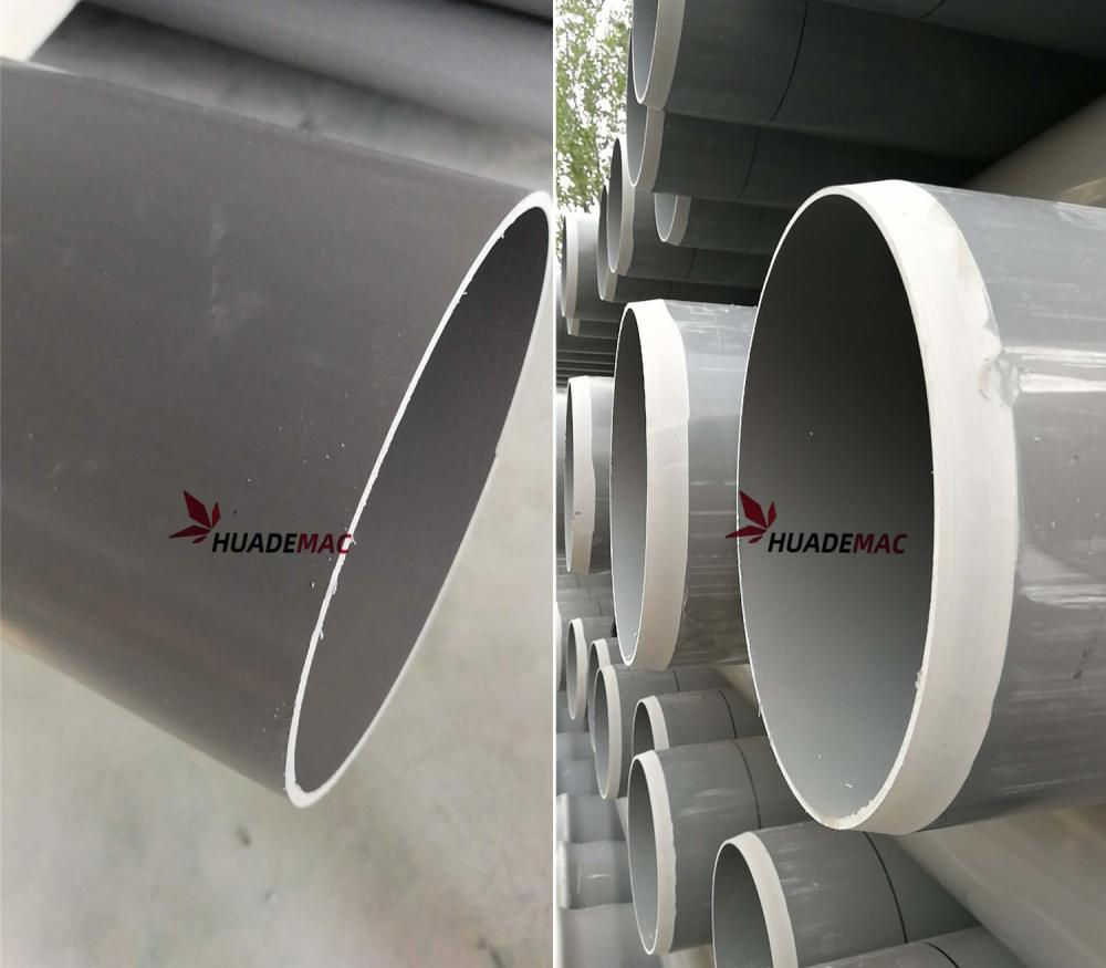 Pvc Pipe With Chamfering