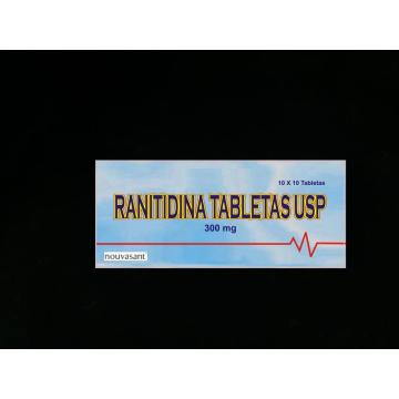 Ranitidine Tablet BP/USP 300mg
