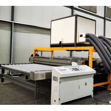 Glass Washer  Horizontal Type Machine