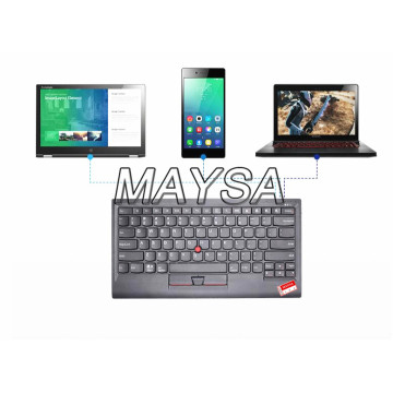 4X30K12182 for Lenovo ThinkPad Bluetooth Keyboard Support Window Android IOS Multi Connect with Trackpoint US English