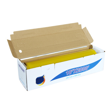 Professional plastic food wrap pe film