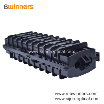 Max 96 Cores Horizontal Type Fiber Optic Splice Closure