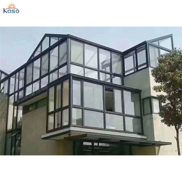 Plastic Polycarbonate Aluminium Room Glass Partition