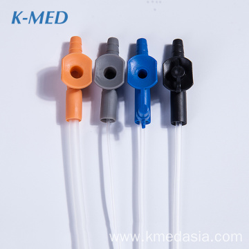 medical consumables medical grade pvc suction catheter