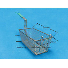 Stainless Steel Fryer Basket Fry Grill 14′′