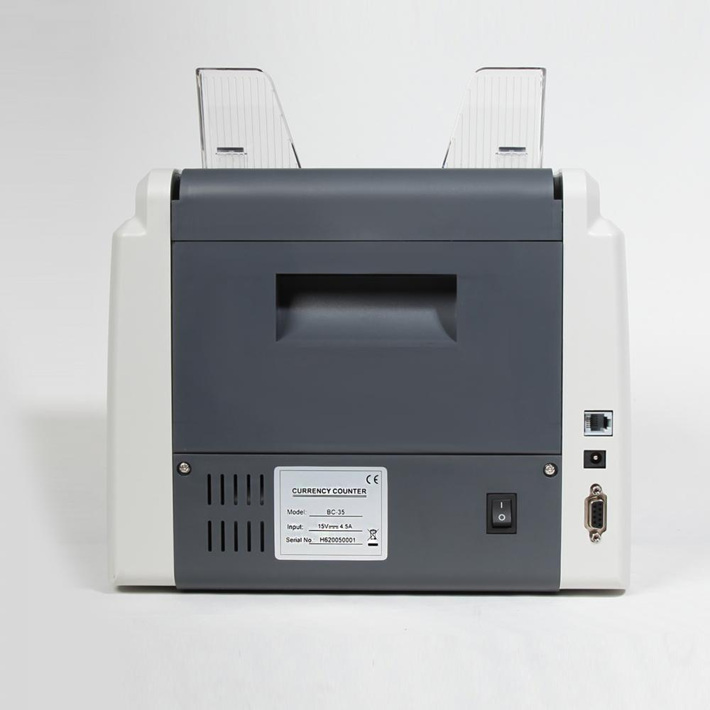 Bill Counter with UV MG Detection