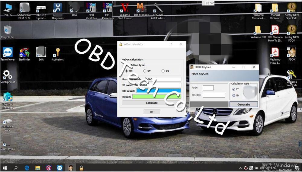 V2020.09 MB STAR C4 C5 6 VCI full Software XENRY/SCN/DAS/EPC data card/HHTwin/WIS//EWA/Starfinder/VEDIAMO/DTS-Monaco/FDOK/VeDoc
