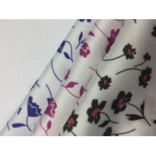 Polyester CDC Floral Print Fabric