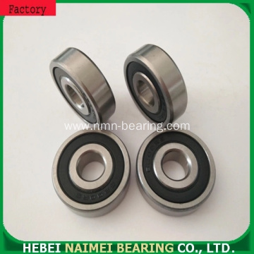 High performance customized nylon pulley wear plastic bearing wheel 6202zz 6202rs