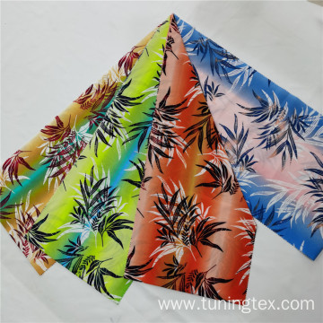 Coconut Tree Four Way Spandex Print Fabric
