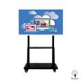 55 Inches 4K Touchscreen with mobile stand