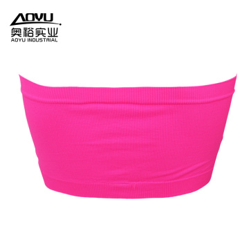 Wholesale Women Padded Yoga Tube Seamless Bra