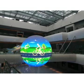 P10 indoor 1 m diameter led sphere display