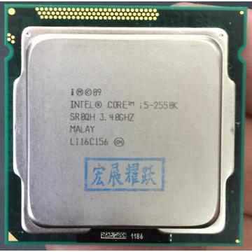 Intel Core i5-2550K i5 2550k Processor (6M Cache,3.3GHz) LGA1155 Quad-Core PC Computer Desktop CPU