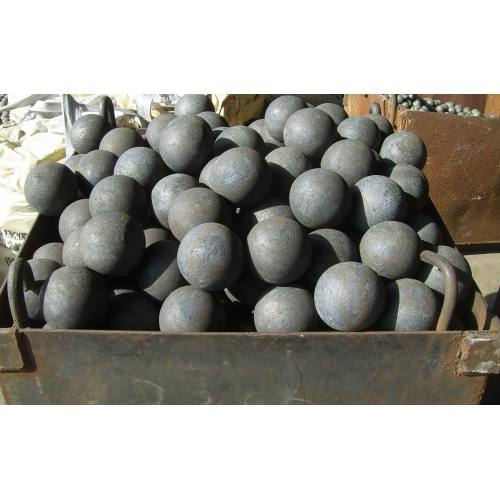 Forged steel ball of 45# 125mm