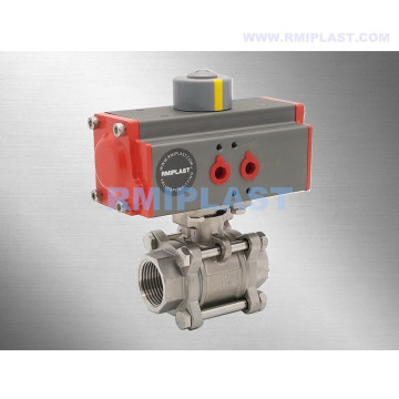 "Double Acting Pneumatic Ball Valve 1/2"" 3/4"" 1"""