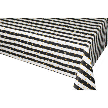 Pvc Printed fitted table covers Table Linens Use