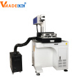 desktop Synrad co2 metal tube marking machine