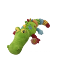 Plush Crocodile With Rattle