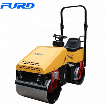 FYL890 1ton Double Drum Roller Compactor with Vibration Control