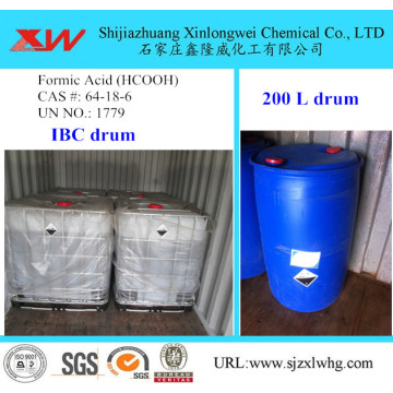 Colorless Fuming Liquid Formic Acid