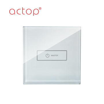 Smart hotel touch switch dimmer switch