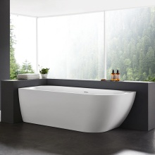 Freestanding Acrylic Rectangular Sanitary Ware Bathroom Tubs