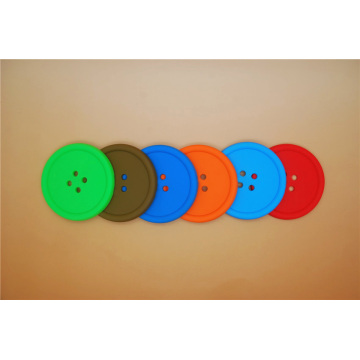 100% Eco Friendly ODM silicone coasters